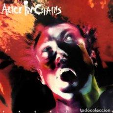 Discos de vinilo: LP ALICE IN CHAINS - FACELIFT - COLUMBIA 188.229/1-467201 - VINILO BLANCO - REEDICION - NUEVO !!!!*. Lote 254097060
