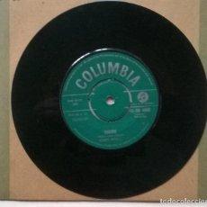 Discos de vinilo: BOBBY RYDELL. CHERIE/ GOOD TIME BABY. COLUMBIA, UK 1961 SINGLE. Lote 254097900