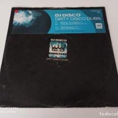 "Discos de vinil: DJ DISCO - DIRTY DISCO DUBS (12""). Lote 254103280"