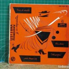 Discos de vinilo: MALANDO Y SU ORQUESTA - TANGOS 1RA SERIE - PHILIPS 422.039 PE. Lote 254105410