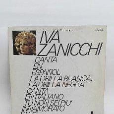 Discos de vinilo: IVA ZANICCHI. EN ESPAÑOL Y EN ITALIANO. 1971. DISCO-VINILO, 45 RPM.. Lote 254107295