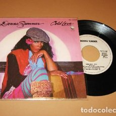 Discos de vinilo: DONNA SUMMER - COLD LOVE - SINGLE - 1980. Lote 254111870