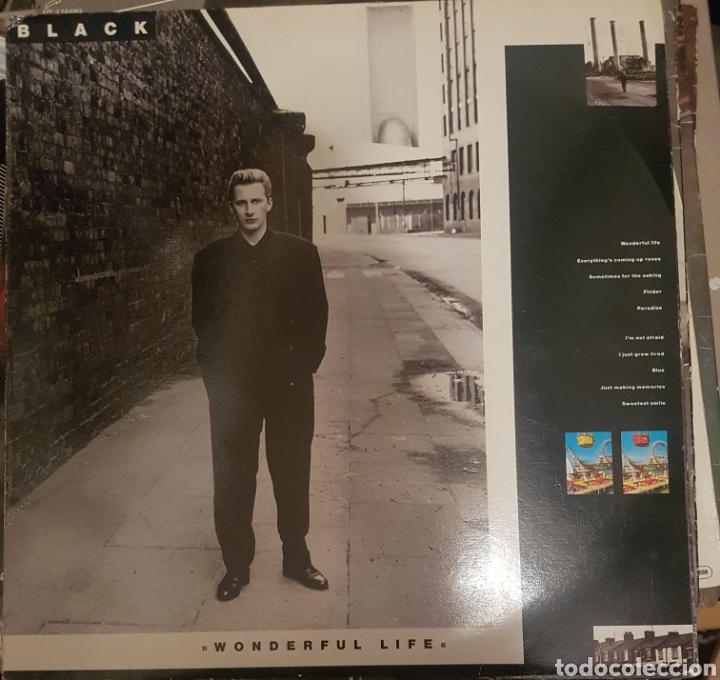 VINILO BLACK, WONDERFULL LIFE (Música - Discos de Vinilo - Maxi Singles - Rock & Roll)