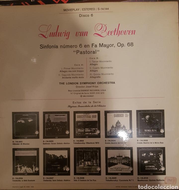Discos de vinilo: Vinilo, sexta sinfonía beethoven - Foto 2 - 254133540