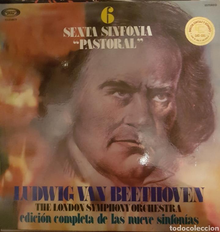 VINILO, SEXTA SINFONÍA BEETHOVEN (Música - Discos de Vinilo - Maxi Singles - Clásica, Ópera, Zarzuela y Marchas)