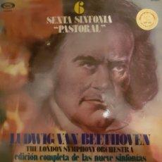 Discos de vinilo: VINILO, SEXTA SINFONÍA BEETHOVEN. Lote 254133540