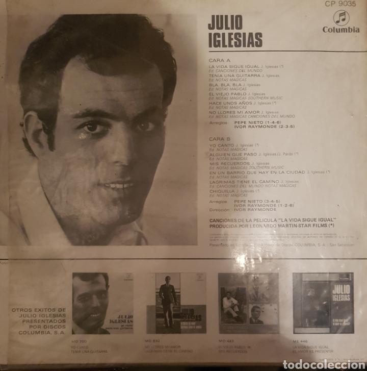 Discos de vinilo: Vinilo julio Iglesias, yo canto - Foto 2 - 254133890
