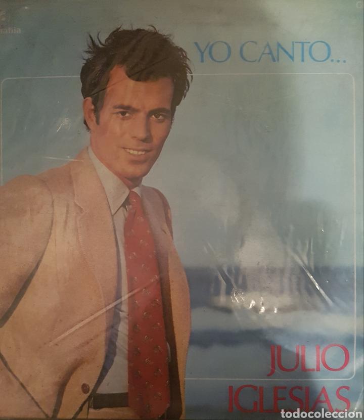 VINILO JULIO IGLESIAS, YO CANTO (Música - Discos de Vinilo - Maxi Singles - Solistas Españoles de los 70 a la actualidad)