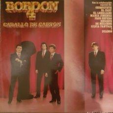 Discos de vinilo: VINILO BORDON 4, CABALLO DE CARTÓN. Lote 254134490