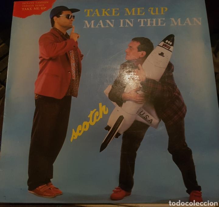 VINILO TAKE ME UP, MAN IN THE MAN (Música - Discos de Vinilo - Maxi Singles - Rock & Roll)
