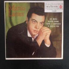 Discos de vinilo: MARIO LANZA .AVE MARIA/NESSUN DORMA/TORNA A SURRIENTO/DI QUELLA PIRA RCA 1969. Lote 254136630