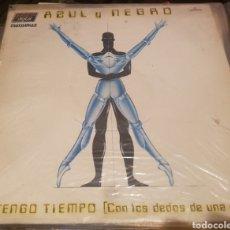 Disques de vinyle: VINILO AZUL Y NEGRO, NO TENGO TIEMPO. Lote 254137865