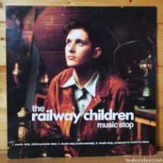 Discos de vinilo: 12 MAXI IMPORT , RAILWAY CHILDREN , MUSIC STOP. Lote 254138970