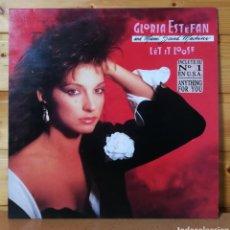 Discos de vinilo: LP ALBUM , GLORIA ESTEFAN , LET IT LOSE , COPIA PROMOCIONAL ESPAÑA.. Lote 254140490