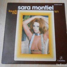 Dischi in vinile: SARA MONTIEL, SG, TOUCH ME + 1, AÑO 1975. Lote 254140615