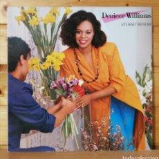 Discos de vinilo: LP ALBUM , DENIECE WILLIAMS , LET HEAR IT FOR THE BOY , SPAIN ED.. Lote 254141095