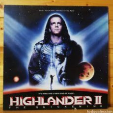 Discos de vinilo: LP ALBUM , HIGHLANDER II , BANDA SONORA , IMPORT.. Lote 254142930