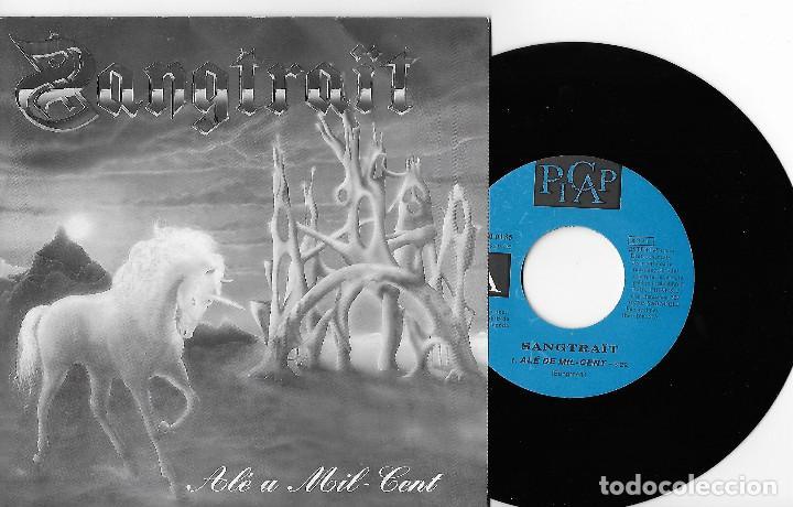 """SANGTRAIT 7"""" SPAIN 45 ALE A MIL-CENT 1993 SINGLE VINILO HARD ROCK HEAVY METAL EN CATALÀ PROMO 1 CARA (Música - Discos - Singles Vinilo - Heavy - Metal)"""