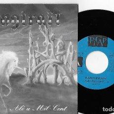 """Discos de vinilo: SANGTRAIT 7"""" SPAIN 45 ALE A MIL-CENT 1993 SINGLE VINILO HARD ROCK HEAVY METAL EN CATALÀ PROMO 1 CARA. Lote 254146370"""