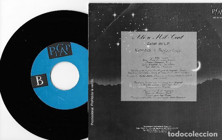 """Discos de vinilo: SANGTRAIT 7"""" SPAIN 45 ALE A MIL-CENT 1993 SINGLE VINILO HARD ROCK HEAVY METAL EN CATALÀ PROMO 1 CARA - Foto 2 - 254146370"""