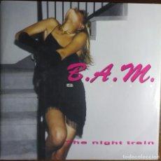 """Discos de vinilo: 12"""" B.A.M. STYLE - THE NIGHT TRAIN - DISCOMAGIC MIX 949 - ITALY PRESS - MAXI - SEXY COVER (EX+/EX+). Lote 254147535"""