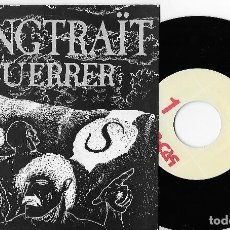 "Discos de vinilo: SANGTRAIT 7"" SPAIN 45 EL GUERRER 1991 SINGLE VINILO HARD ROCK HEAVY METAL EN CATALÀ PROMO ERROR MIRA. Lote 254150235"