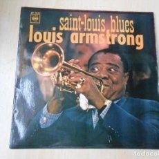 Discos de vinilo: LOUIS ARMSTRONG, EP, SAINT-LOUIS BLUES + 2, AÑO 1967. Lote 254152945
