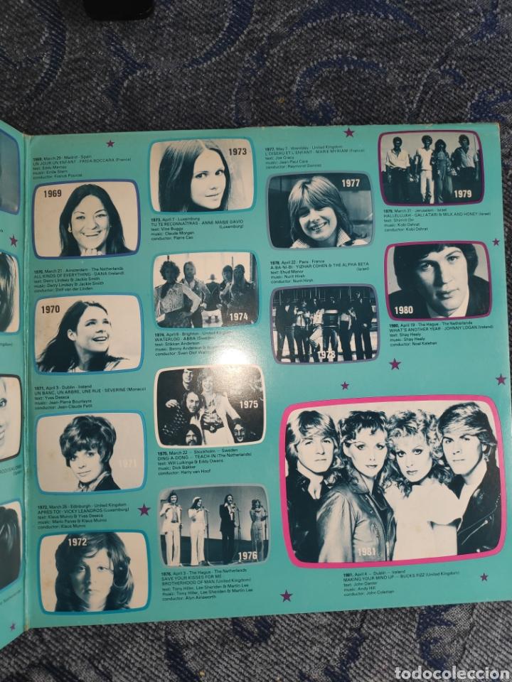 VINILO ALBUM DOBLE EUROVISION PORTUGAL - 25 ANOS DO FESTIVAL DA EUROVISÃO - DES 1956 A 1981 - GALA (Música - Discos - LP Vinilo - Festival de Eurovisión)