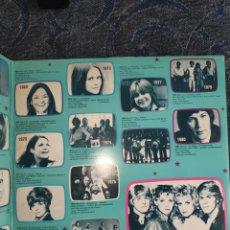 Discos de vinilo: VINILO ALBUM DOBLE EUROVISION PORTUGAL - 25 ANOS DO FESTIVAL DA EUROVISÃO - DES 1956 A 1981 - GALA. Lote 254155280