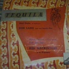 Discos de vinilo: KEN MACKINTOSH - TEQUILA EP - ORIGINAL ESPAÑOL - LA VOZ DE SU AMO 1968 - MONOAURAL. Lote 254166725