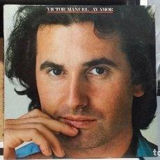 Discos de vinilo: *** VICTOR MANUEL - AY AMOR - LP AÑO1980 (DISCO PROMOCIONAL) 1ª EDICIÓN ORIGINAL - LEER DESCRIPCIÓN. Lote 254169310