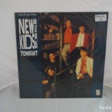 Discos de vinilo: VINILO 12´´ - MAXI - SINGLE - NEW KIDS ON THE BLOCK - TONIGHT. Lote 254169320