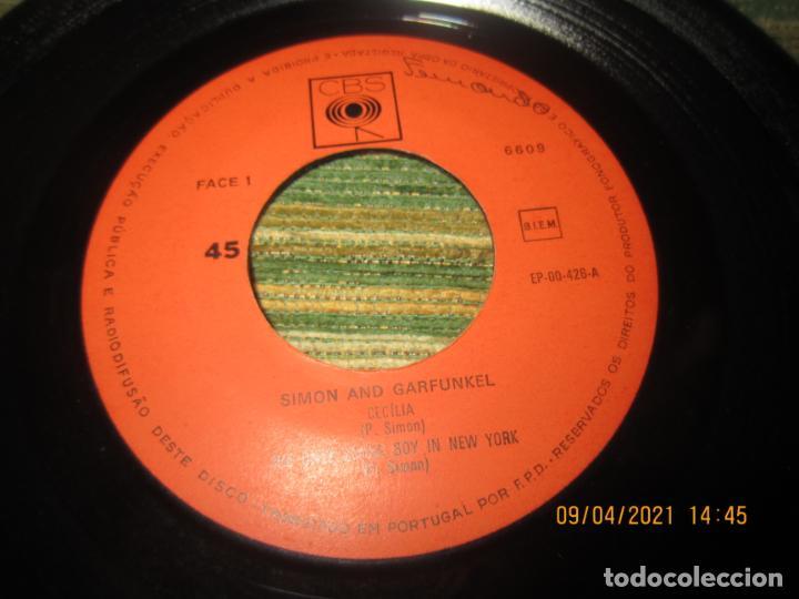 Discos de vinilo: SIMOND AND GRAFUNKEL - CECILIA EP - ORIGINAL PORTUGUES - CBS RECORDS 1972 - MONOAURAL - Foto 3 - 254170620