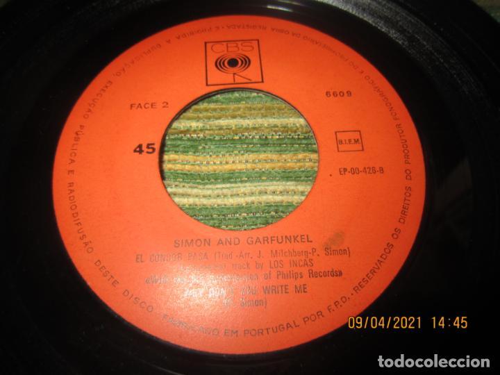 Discos de vinilo: SIMOND AND GRAFUNKEL - CECILIA EP - ORIGINAL PORTUGUES - CBS RECORDS 1972 - MONOAURAL - Foto 4 - 254170620