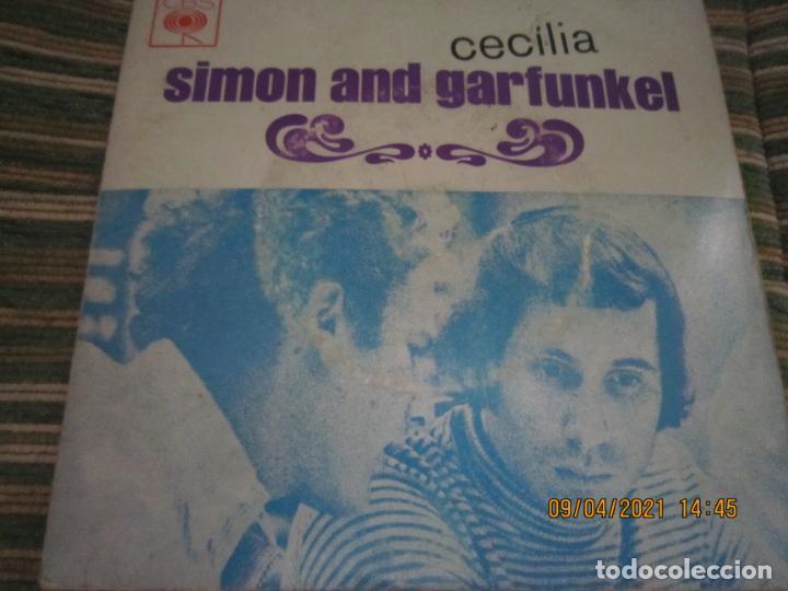 Discos de vinilo: SIMOND AND GRAFUNKEL - CECILIA EP - ORIGINAL PORTUGUES - CBS RECORDS 1972 - MONOAURAL - Foto 5 - 254170620