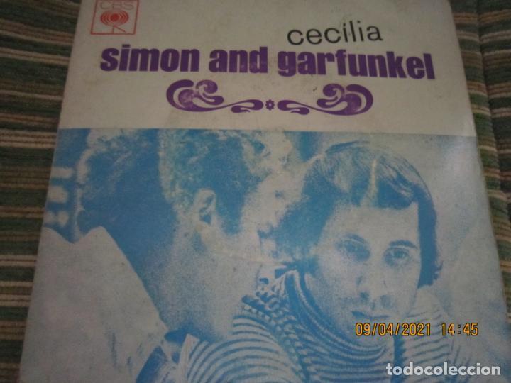 SIMOND AND GRAFUNKEL - CECILIA EP - ORIGINAL PORTUGUES - CBS RECORDS 1972 - MONOAURAL (Música - Discos de Vinilo - EPs - Pop - Rock Internacional de los 70)