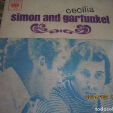 Discos de vinilo: SIMOND AND GRAFUNKEL - CECILIA EP - ORIGINAL PORTUGUES - CBS RECORDS 1972 - MONOAURAL. Lote 254170620