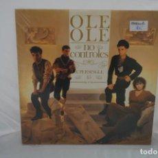 Discos de vinilo: VINILO 12´´ - LP - OLE OLE - NO CONTROLES / CBS. Lote 254171635