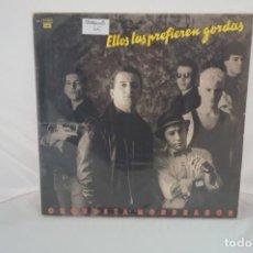 Discos de vinilo: VINILO 12´´ - ORQUESTA MONDRAGON - ELLOS LAS PREFIEREN GORDAS - EMI. Lote 254172295