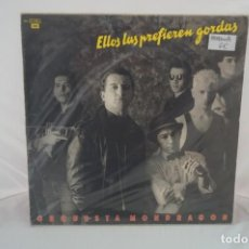 Discos de vinilo: VINILO 12´´ - LP - ORQUESTA MONDRAGON - ELLOS LAS PREFIEREN GORDAS / EMI. Lote 254172925