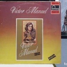 Discos de vinilo: *** VICTOR MANUEL - VERSIÓN ORIGINAL (RECOPILACIÓN DE ÉXITOS) - LP AÑO 1983 - LEER DESCRIPCIÓN. Lote 254176185