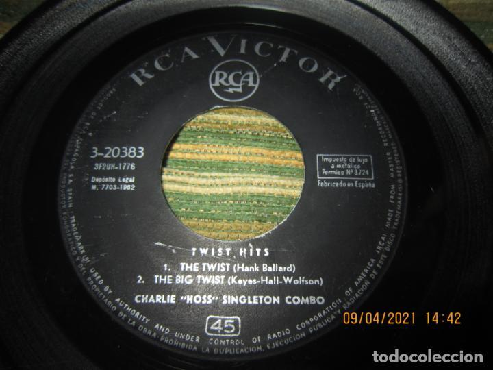 Discos de vinilo: THE CHARLIE HOSS SINGLETON COMBO - EL CONTINENTAL EP - ORIGINAL ESPAÑOL - RCA 1962 - MONOAURAL - Foto 3 - 254176305