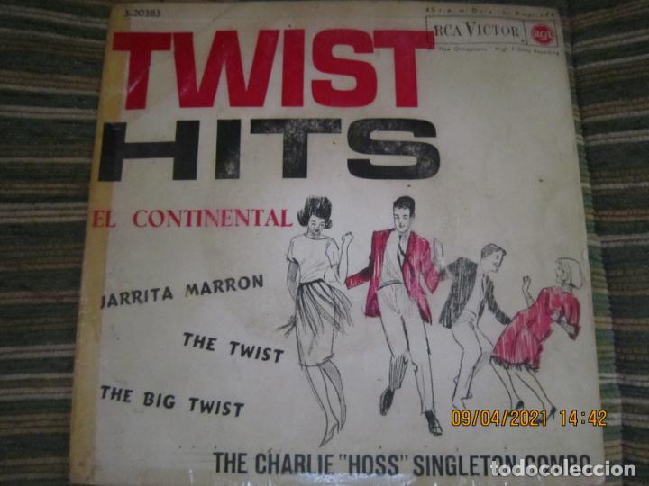 Discos de vinilo: THE CHARLIE HOSS SINGLETON COMBO - EL CONTINENTAL EP - ORIGINAL ESPAÑOL - RCA 1962 - MONOAURAL - Foto 5 - 254176305