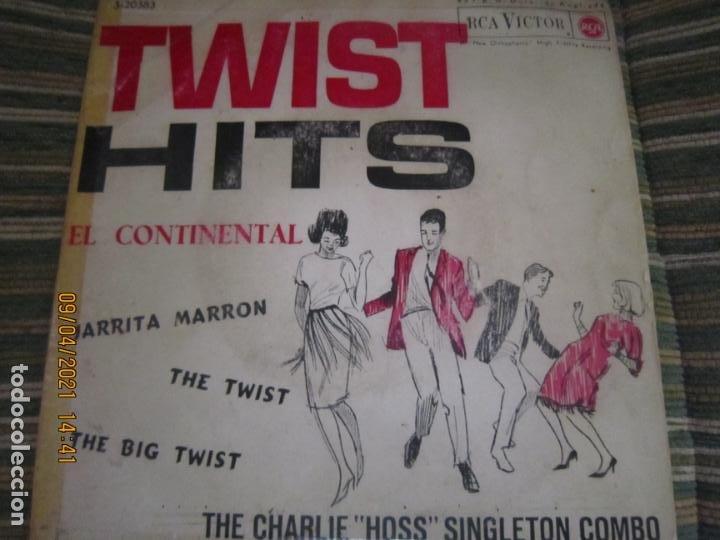 THE CHARLIE HOSS SINGLETON COMBO - EL CONTINENTAL EP - ORIGINAL ESPAÑOL - RCA 1962 - MONOAURAL (Música - Discos de Vinilo - EPs - Rock & Roll)