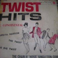 Discos de vinilo: THE CHARLIE HOSS SINGLETON COMBO - EL CONTINENTAL EP - ORIGINAL ESPAÑOL - RCA 1962 - MONOAURAL. Lote 254176305