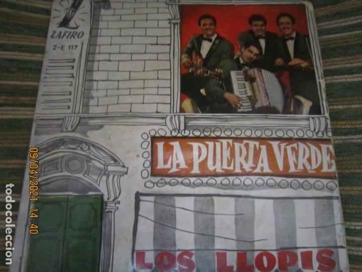 Discos de vinilo: LOS LLOPIS - LA PUERTA VERDE EP - ORIGINAL ESPAÑOL - ZAFIRORECORDS 1960 - MONOAURAL - Foto 5 - 254177440