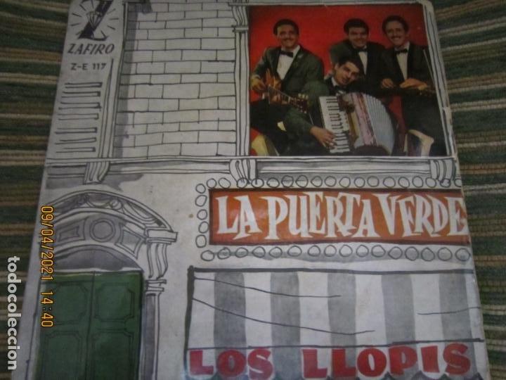 LOS LLOPIS - LA PUERTA VERDE EP - ORIGINAL ESPAÑOL - ZAFIRORECORDS 1960 - MONOAURAL (Música - Discos de Vinilo - EPs - Rock & Roll)