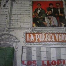 Discos de vinilo: LOS LLOPIS - LA PUERTA VERDE EP - ORIGINAL ESPAÑOL - ZAFIRORECORDS 1960 - MONOAURAL. Lote 254177440