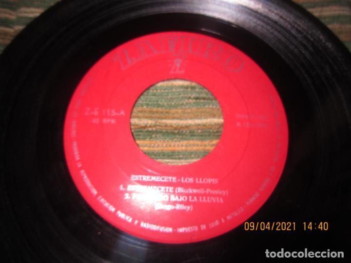 Discos de vinilo: LOS LLOPIS - ESTREMECETE EP - ORIGINAL ESPAÑOL - ZAFIRO RECORDS 1960 - MONOAURAL. - Foto 3 - 254178370