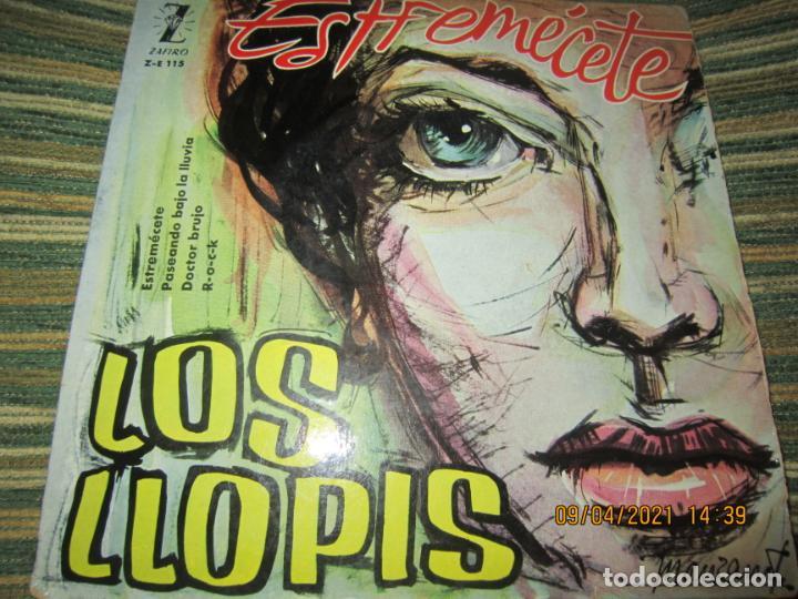 Discos de vinilo: LOS LLOPIS - ESTREMECETE EP - ORIGINAL ESPAÑOL - ZAFIRO RECORDS 1960 - MONOAURAL. - Foto 5 - 254178370